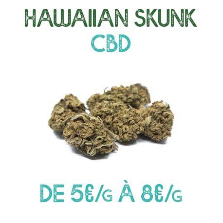 Hawaiian Skunk CBD en vente sur Marie-Jeanne d'Arc de 5€/g à 8€/g