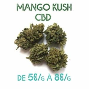 Mango Kush CBD en vente sur Marie-Jeanne d'Arc de 5€/g à 8€/g