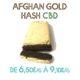 Résine Afghan Gold Hash, en vente sur Marie-Jeanne d'Arc de 6,50€/g à 9,10€/g