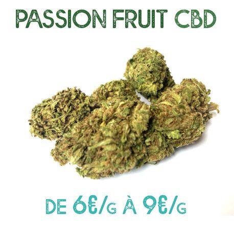 Passion Fruit CBD en vente sur Marie-Jeanne d'Arc de 6€/g à 9€/g
