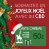 Souhaitez Joyeux Noël avec du CBD avec la Carte Cadeau Marie-Jeanne d'Arc
