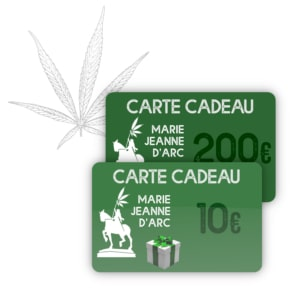 Carte cadeau Marie-Jeanne d'Arc