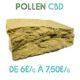 Pollen CBD en vente sur Marie-Jeanne d'Arc de 6€/g à 7,50€/g