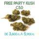 Free-Party Kush CBD en vente sur Marie-Jeanne d'Arc de 3,80€/g à 5,90€/g