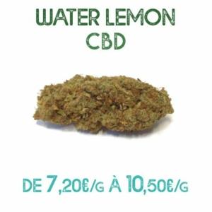 Water Lemon CBD en vente sur Marie-Jeanne d'Arc de 7,20€/g à 10,50€/g