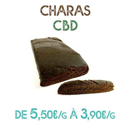 Résine Charas CBD en vente chez Marie-Jeanne d'Arc