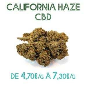 California Haze CBD en vente chez Marie-Jeanne d'Arc de 4,70€/g à 7,30€/g