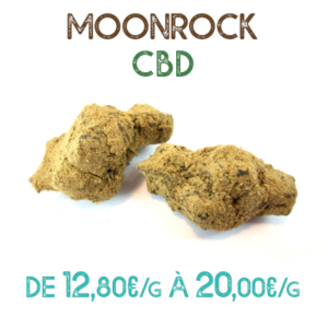 Moonrock CBD en vente chez Marie-Jeanne d'Arc de 12,80€ à 20€